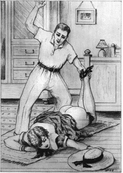 мужик порет куклу